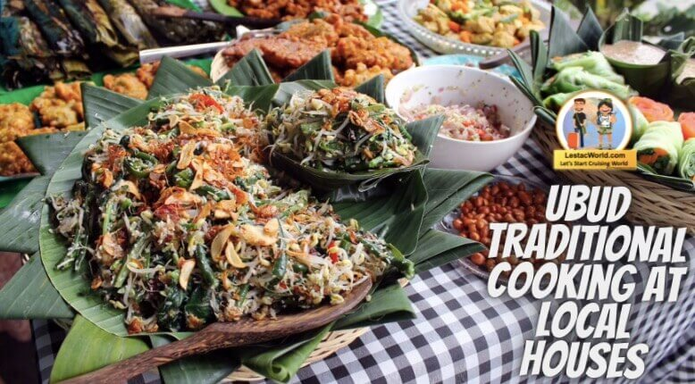Ubud traditional cooking at local houses